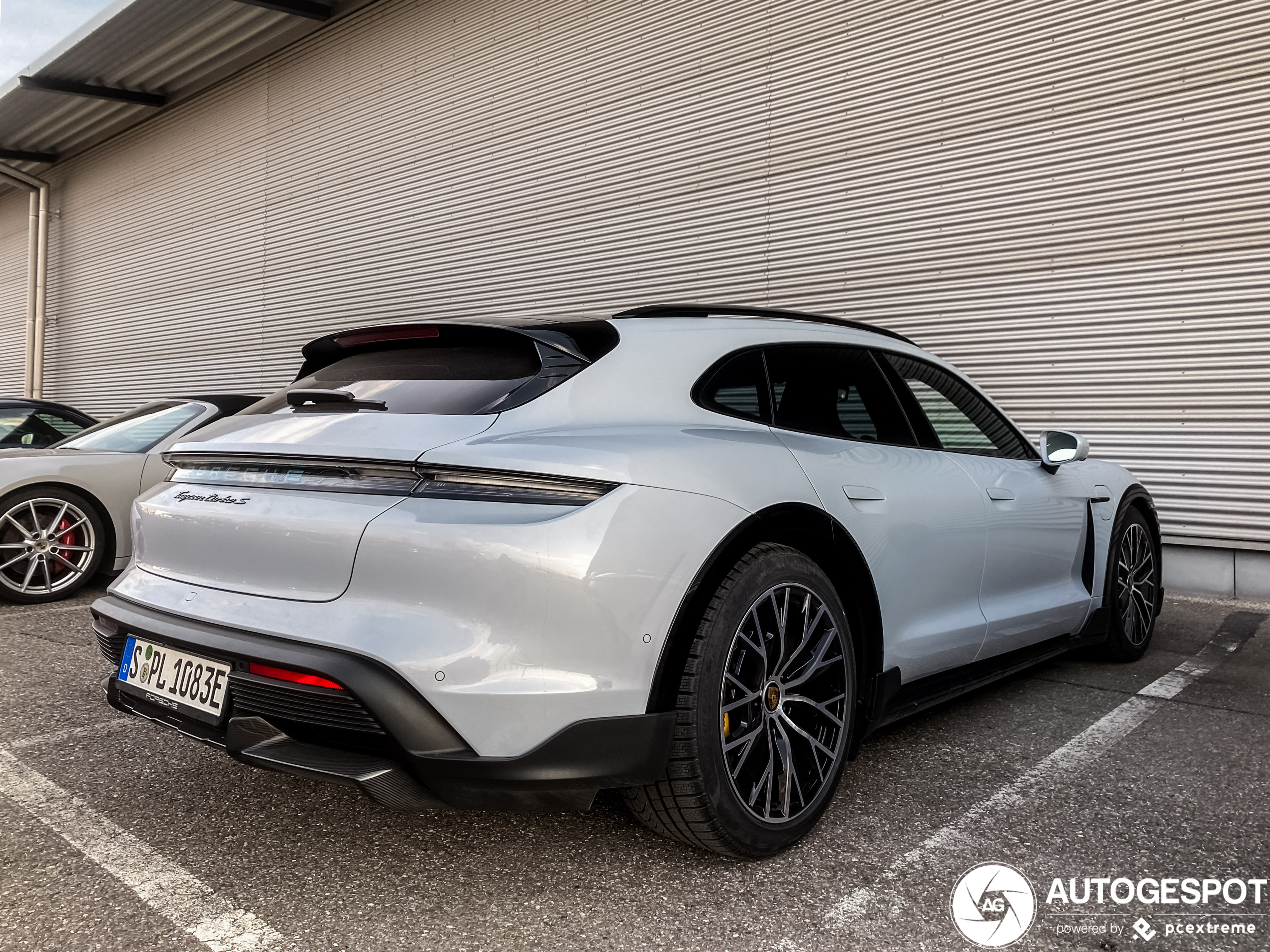 This is the first Porsche Taycan Cross Turismo on the streets!